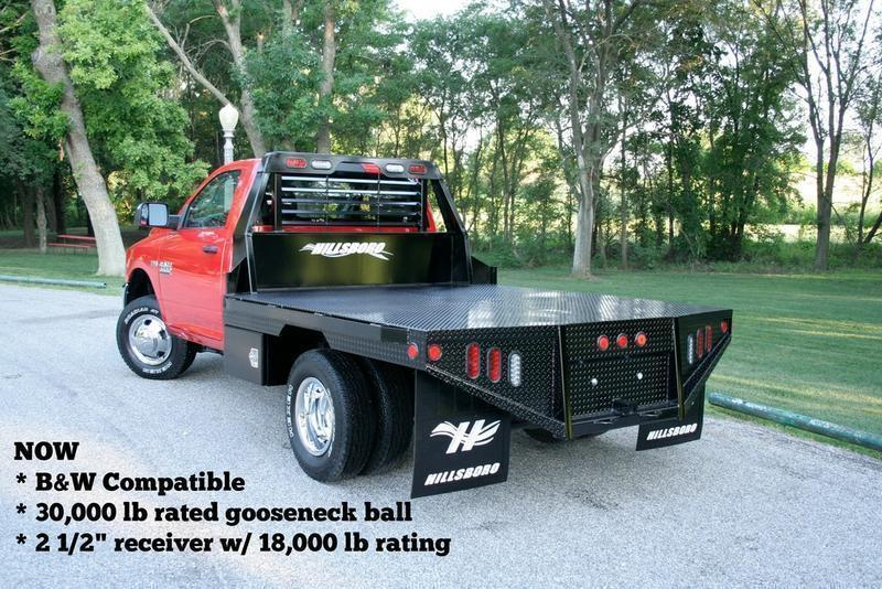 "2019 Hillsboro GI Steel Truck Bed 80"" x 102"""