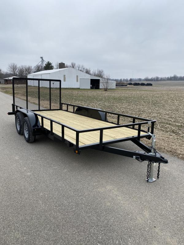 2020 Gatormade Trailers 78x16 Utility Trailer
