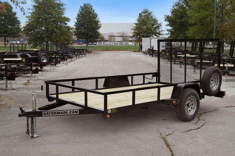 2020 Gatormade Trailers 76x14 Utility Trailer