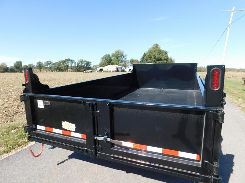 2020 Quality Steel and Aluminum 83 x 14 Dump Trailer
