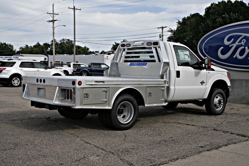 "2018 Hillsboro 3500 Series Aluminum Truck Bed 8' x 9'4"""
