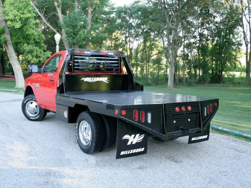 "2017 Hillsboro GI Steel Truck Bed 80"" x 112"""