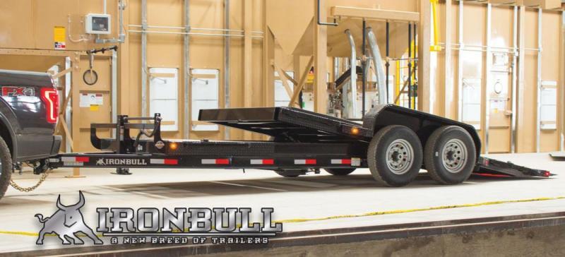 2020 Iron Bull 83x18 Low Pro Tilt Equipment Trailer