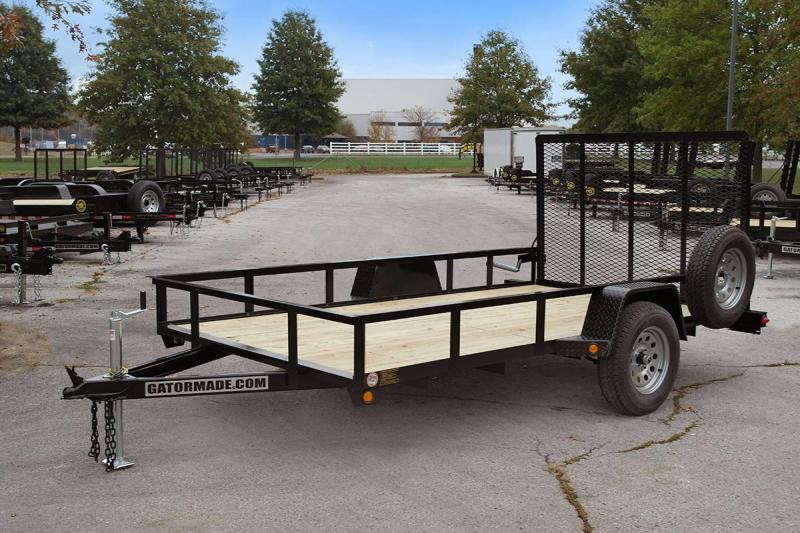 "2020 Gatormade Trailers 64""x14 Utility Trailer"