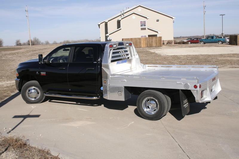 "2018 Hillsboro 3000 Series Aluminum Truck Bed 8' x 9'4"""