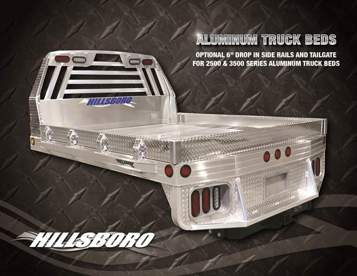 2020 Hillsboro Industries 81 x 86 2500 series Truck Bed