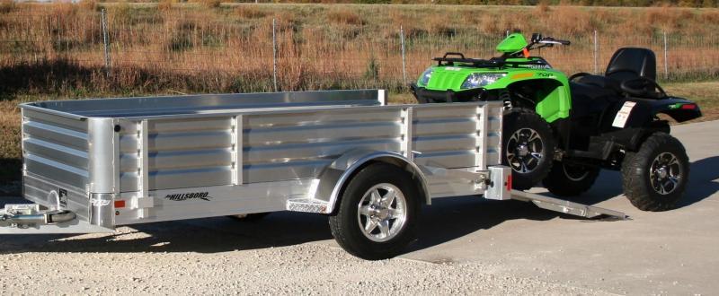 2020 Hillsboro Industries AU78x14 Aluminum Utility Trailer