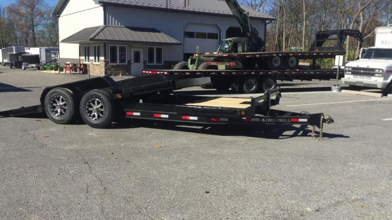 2020 Iron Bull 83x20 Low Pro Tilt Equipment Trailer
