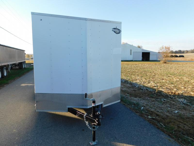 2020 Impact Trailers Quake 7x14 Enclosed Cargo Trailer