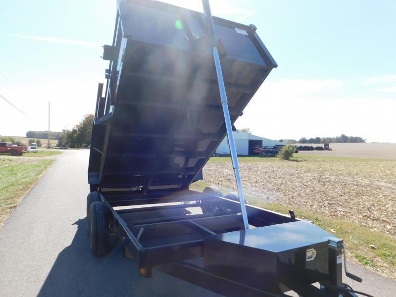2020 Quality Steel and Aluminum 83 x 14 Dump Trailer