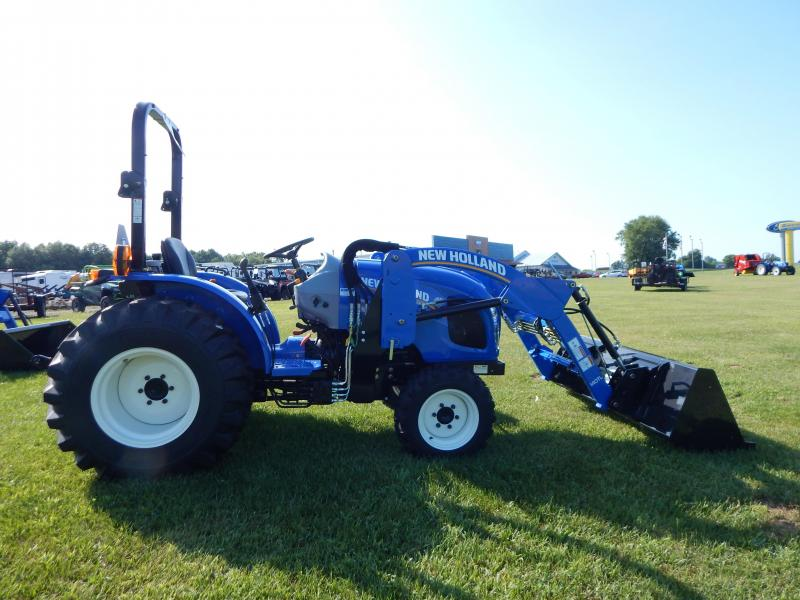 2019 New Holland Workmaster 35 W/ 140TL Loader Tractor