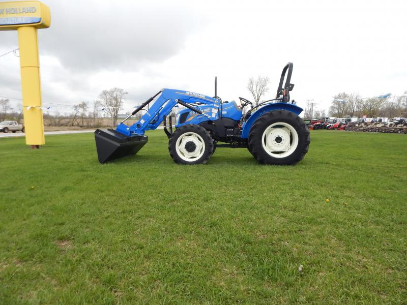 "2017 New Holland Workmaster 70 Tractor W/ 84"" Bucket"