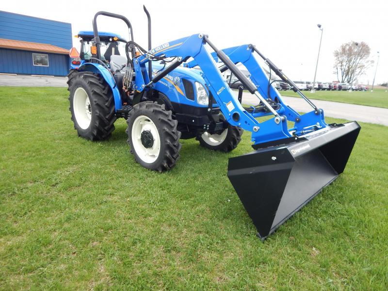 "2017 New Holland Workmaster 70 Tractor W/ 84"" Bucket"