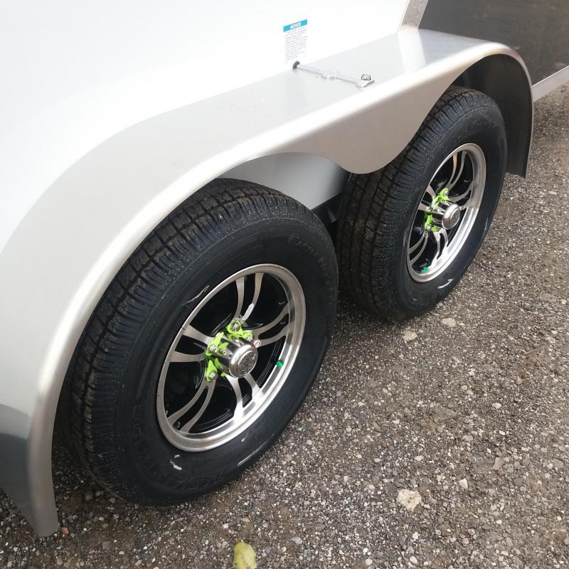 7 X 25 Tandem Axle Snowmobile Trailer