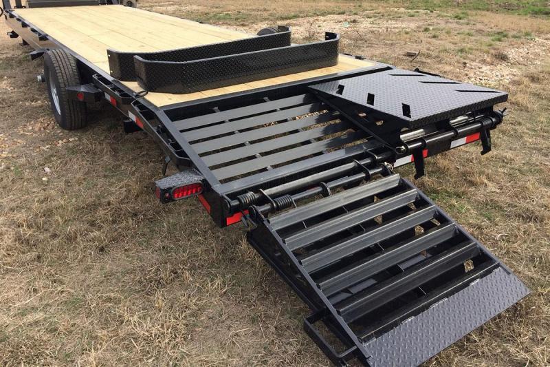102 x 24 IRON BULL Open Gooseneck Equipment Trailer 14K