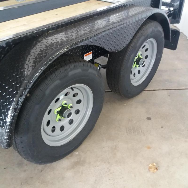 82 X 12 Tandem Axle Open Utility Trailer