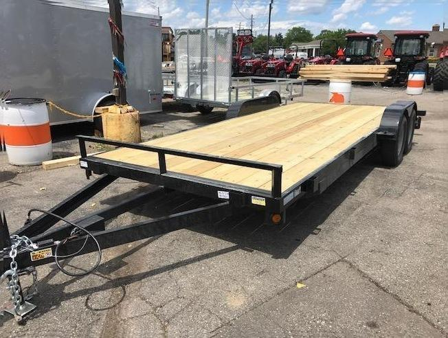 "83"" X 20 Car Hauler/Flatbed Trailer"