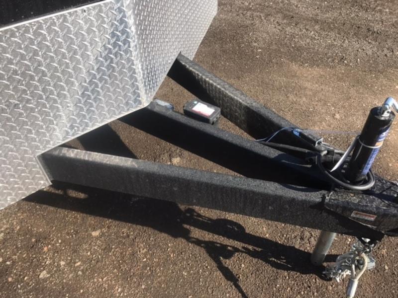 8.5 X 24 Tandem Axle Enclosed Car Hauler Trailer