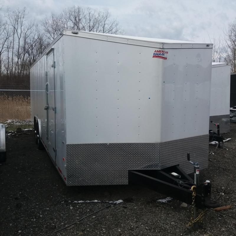 8.5 x 24 Tandem Axle Enclosed Trailer