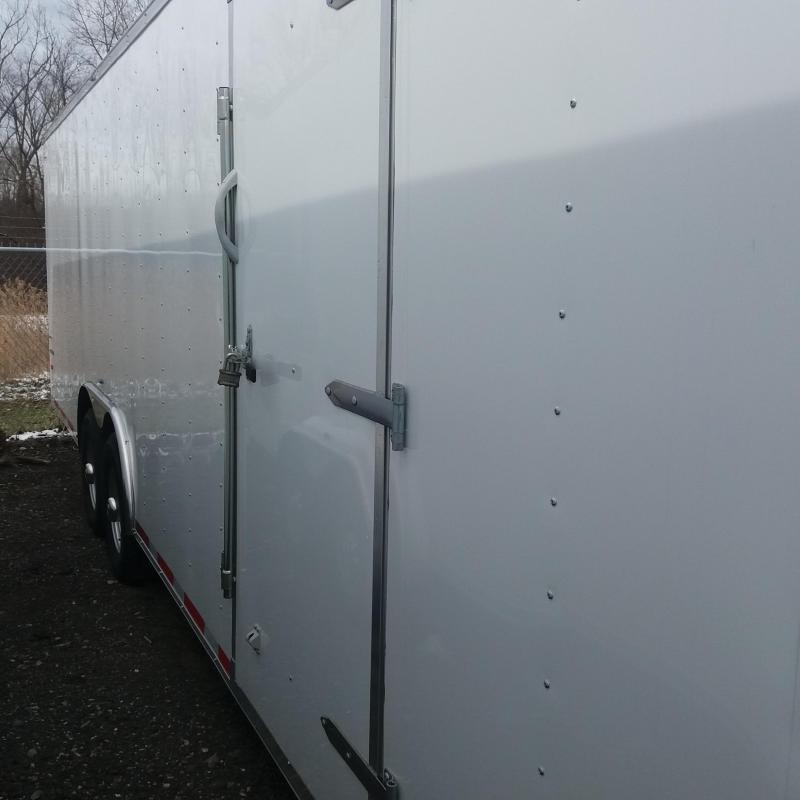 8.5 x 24 Tandem Axle Enclosed Trailer