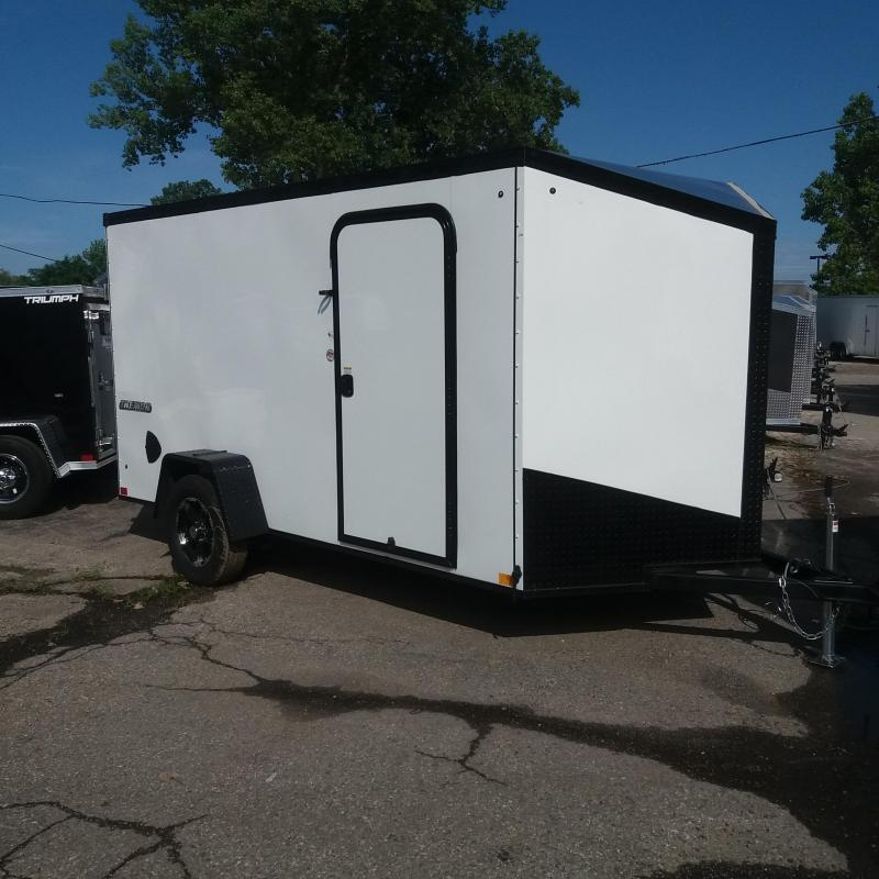 6 X 12 Single Axle Enclosed Trailer Blackout Pkg