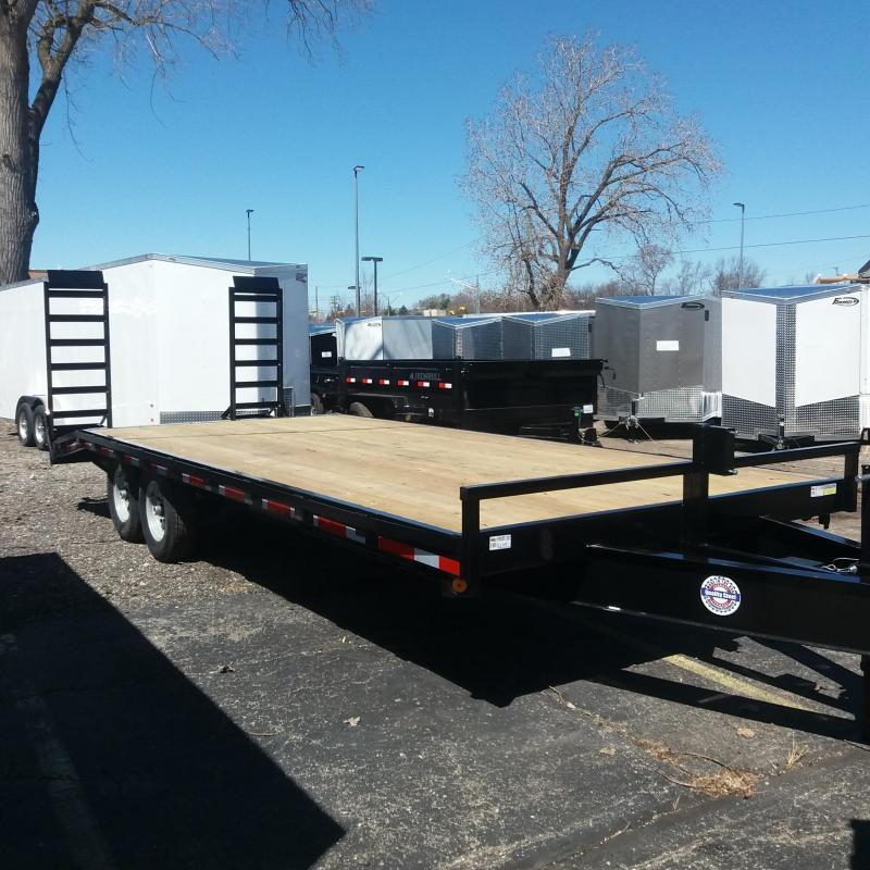 102 X 18+4 Deckover Equipment Hauler Trailer 14K