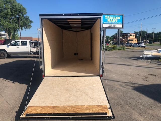 7 X 16 Tandem Axle Enclosed Trailer Blackout Pkg
