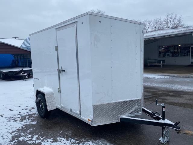 6 X 10 Single Axle Enclosed Trailer