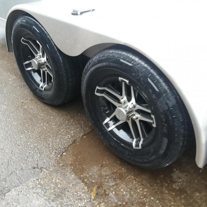 7 X 23  Tandem Axle Snowmobile Trailer
