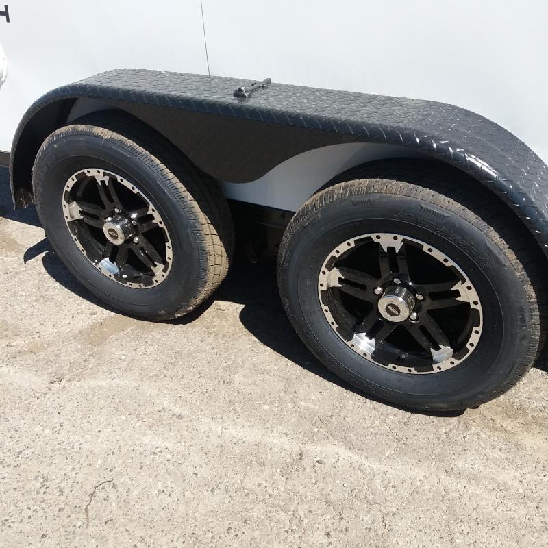 7 X 12 Tandem Axle Enclosed Trailer Blackout Pkg