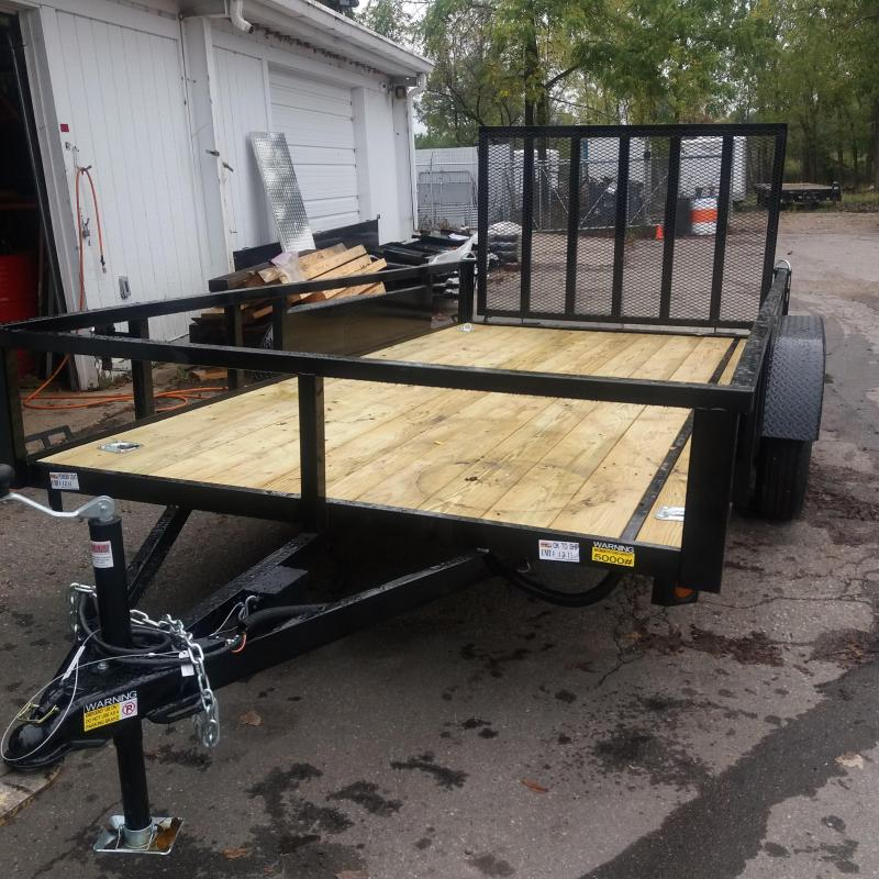 82 X 14 Tandem Axle Open Utility Trailer