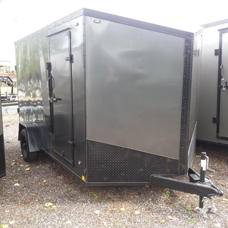 7 X 12 Single Axle Enclosed Trailer Blackout Pkg