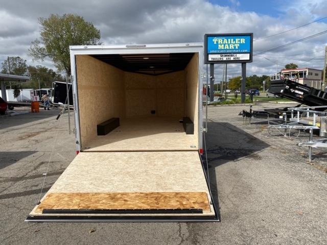 8.5 X 18 Tandem Axle Enclosed Trailer