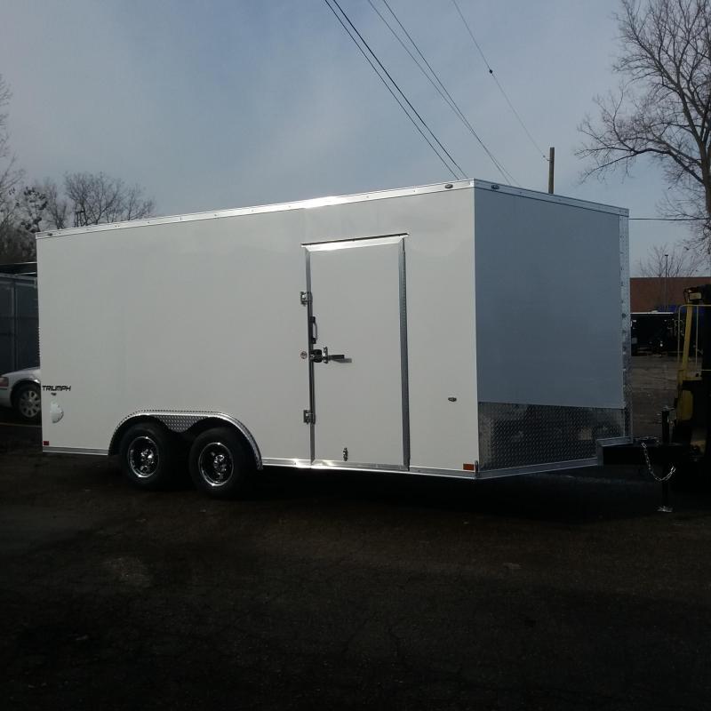 8.5 X 16 Tandem Axle Enclosed Trailer