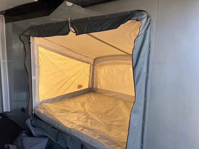 6.5 X 14 Enclosed ATV Trailer - Black Out