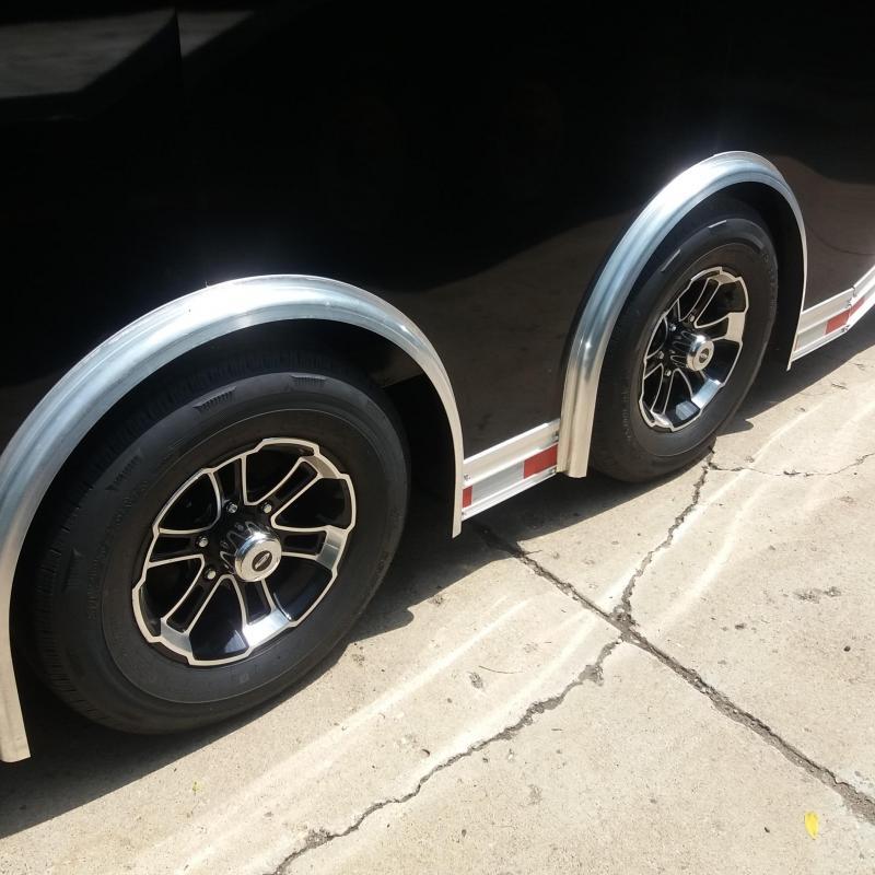 8.5 X 24 Tandem Axle Enclosed Car/ Race Trailer