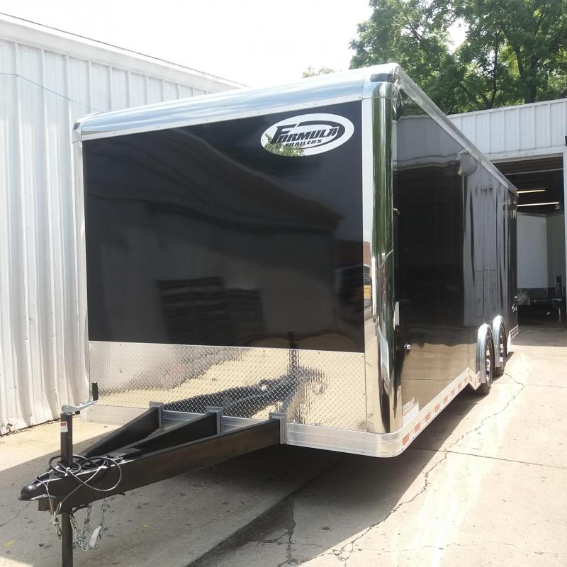 8.5 X 24 Tandem Axle Enclosed Car/ Race Trailer