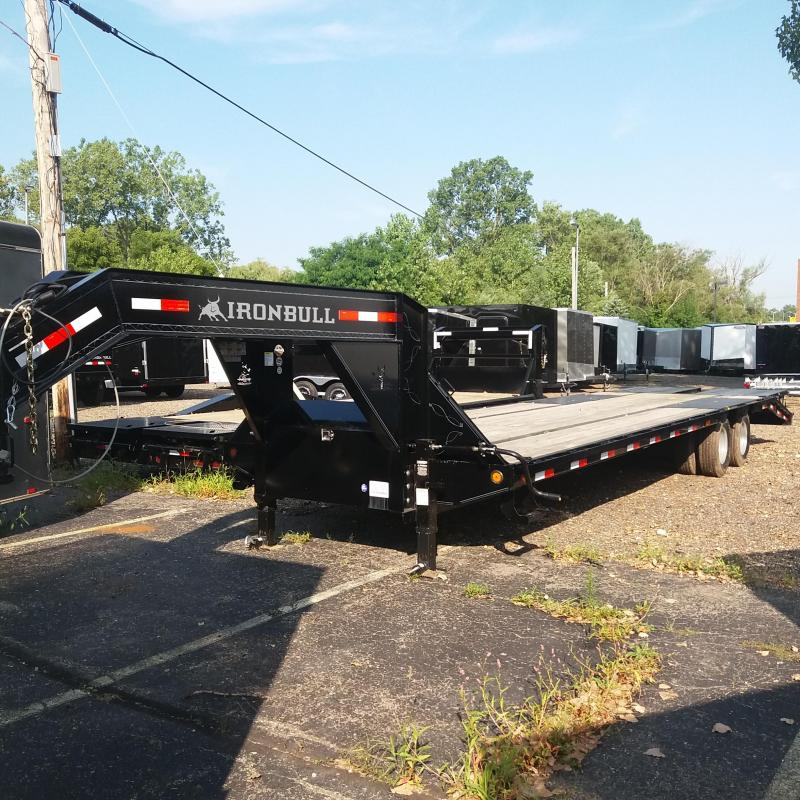 102 X 32 Low Pro Open Gooseneck Trailer 20K