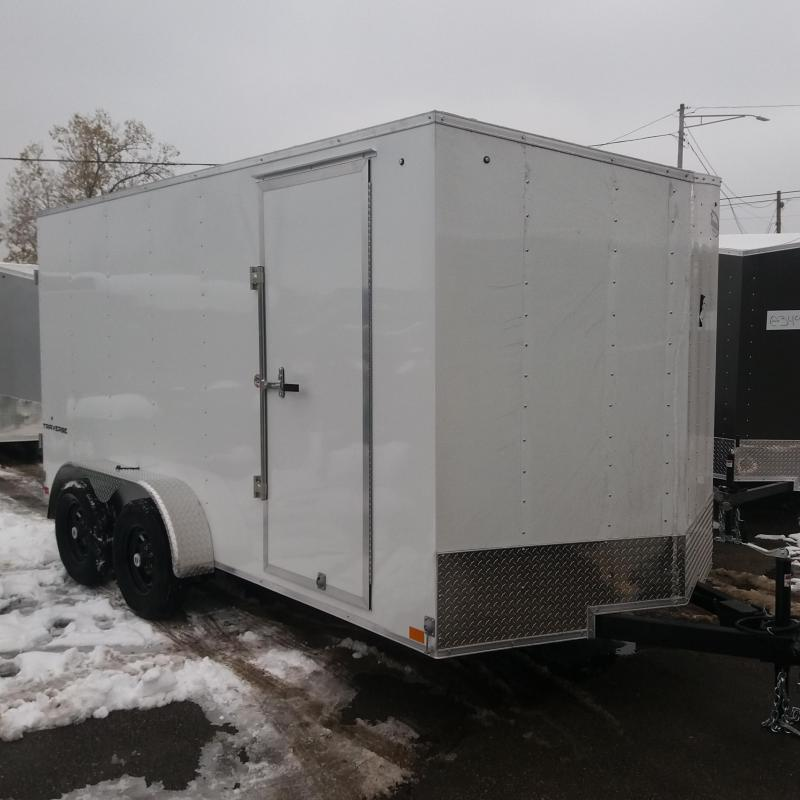 7 X 14 Tandem Enclosed Trailer
