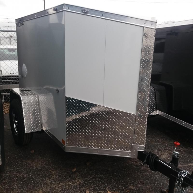4 X 6 Enclosed Trailer