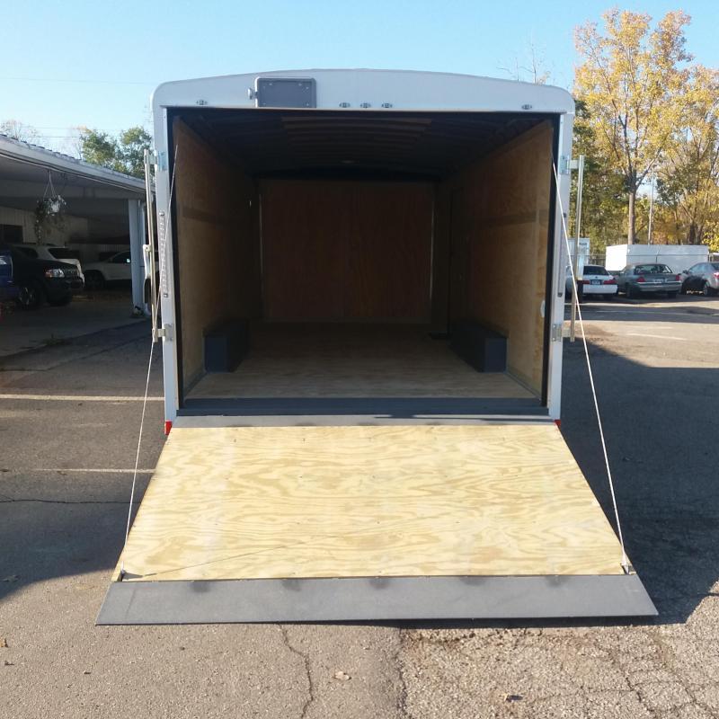 8.5 X 18 Tandem Axle Enclosed Cart Hauler Trailer
