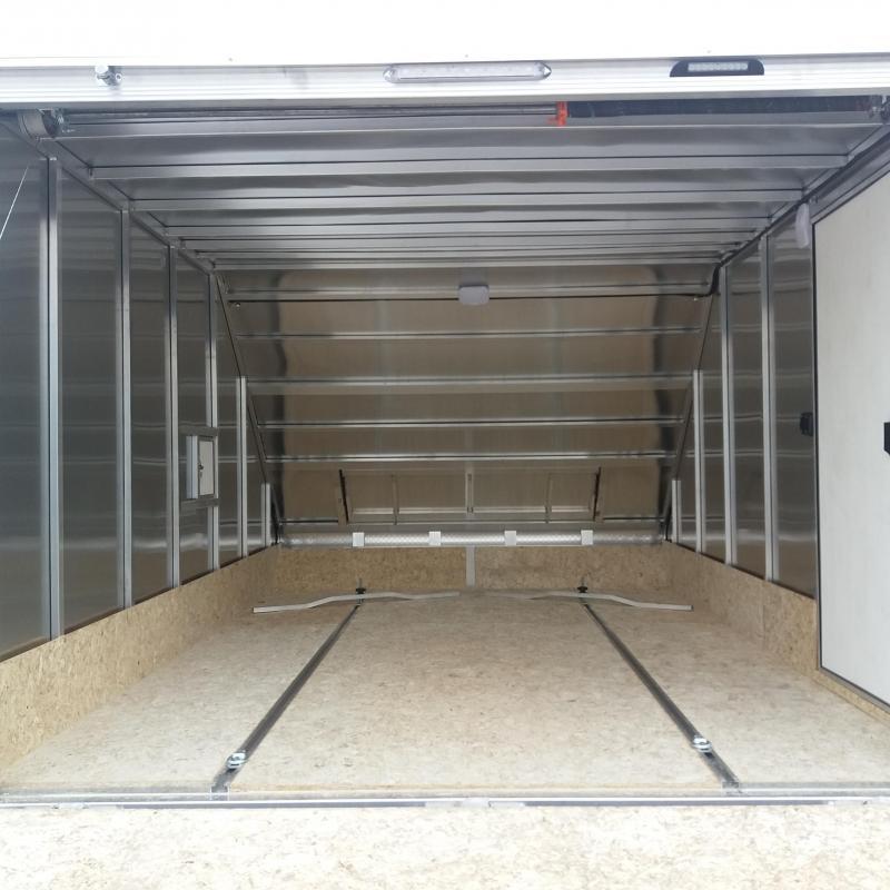 8.5 X 13 Enclosed Snowmobile Trailer