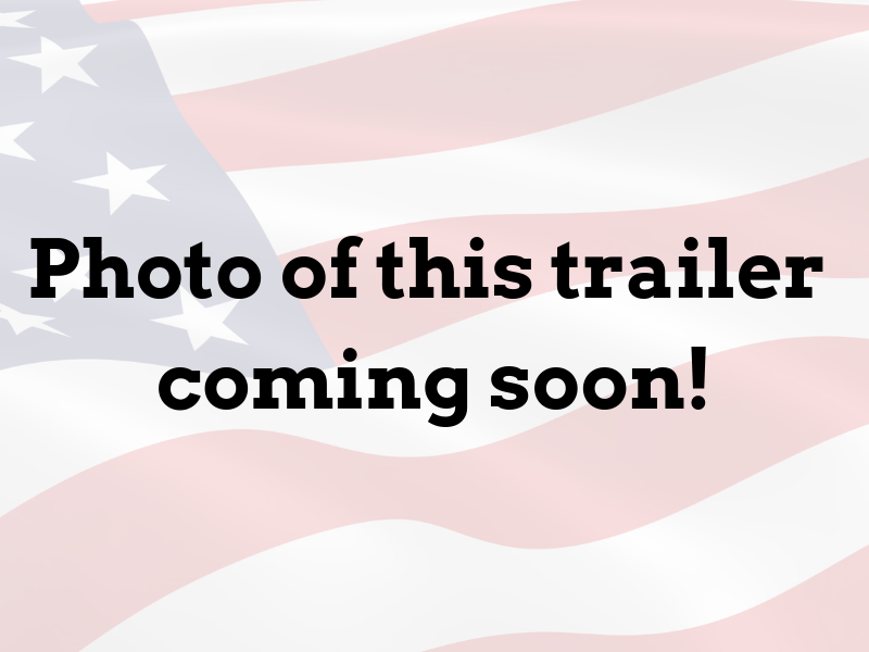 6 x 10 Single Axle Enclosed Trailer