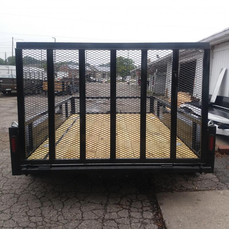 82 X 12 Tandem Axle Open Utility Trailer
