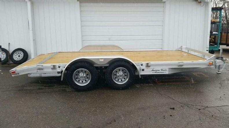 "82""x16' Open Aluminum Car Hauler"