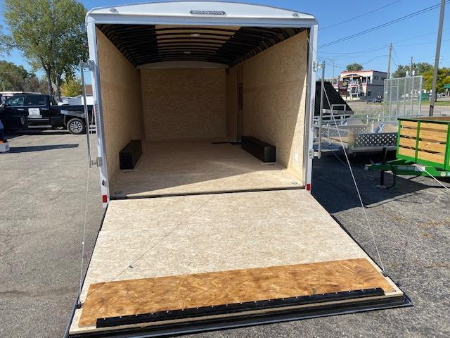 8.5 X 18 Tandem Axle Enclosed Trailer
