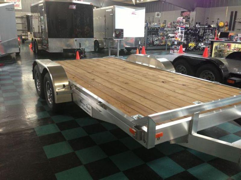 8 X 16 Open Car Hauler Trailer