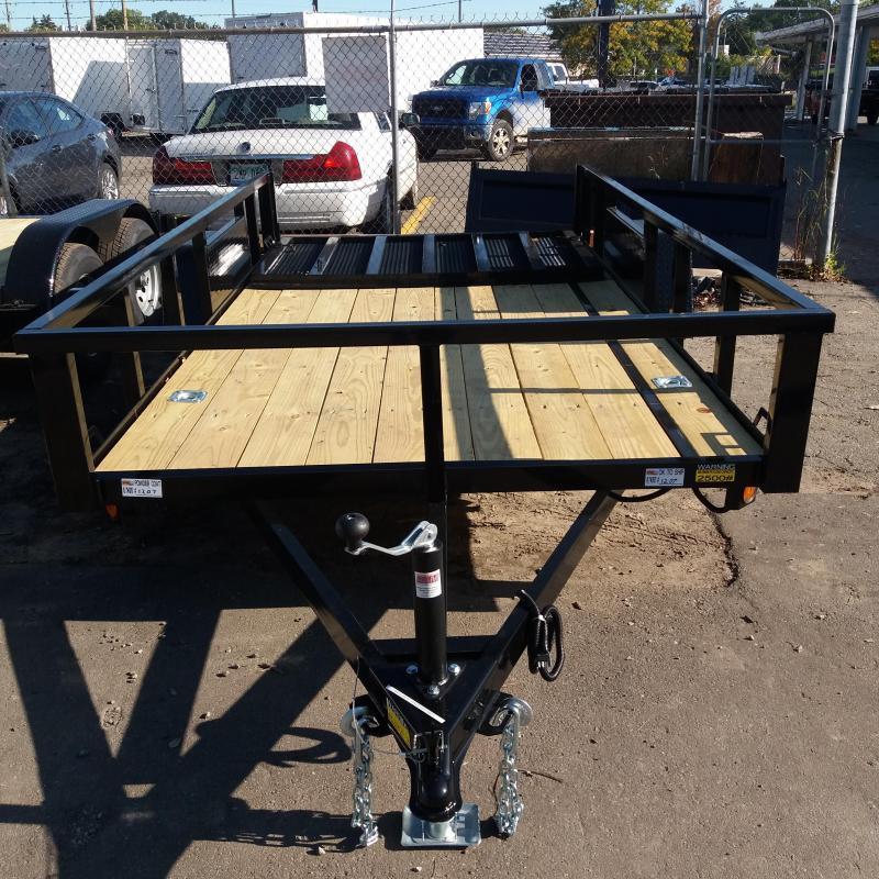 6 X 12 Single Axle Open Utility Trailer