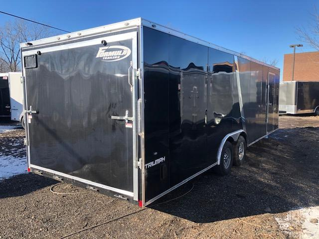 8.5 X 26 Tandem Axle Enclosed Car Hauler Trailer