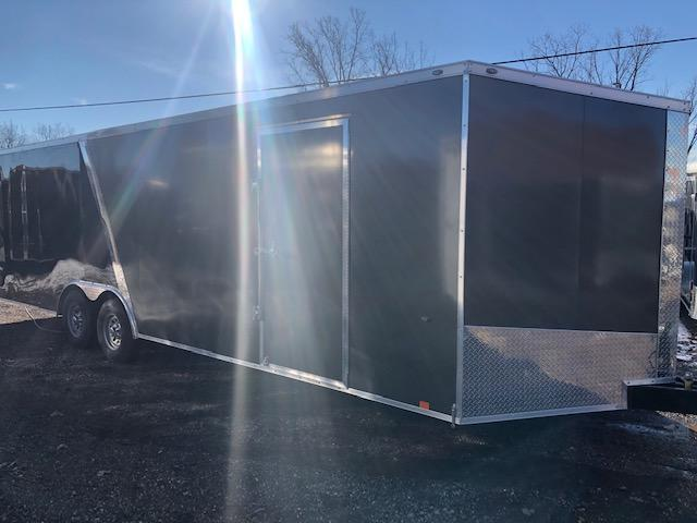 8.5 X 26 Tandem Axle Enclosed Car Hauler Trailer